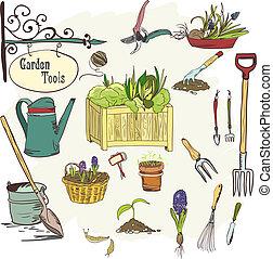 sef, 園藝, 工具
