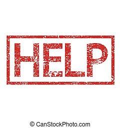 segítség, bélyeg, szöveg