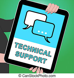 segítség, tabletta, technical segítség, ábra, 3, látszik