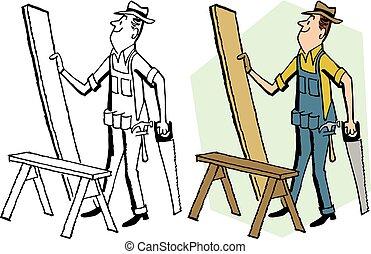 sega, carpentiere