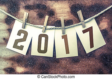segelgarn, begrepp, stampat, fastklämd, tema, kort, 2017