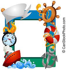 segeln, rahmen