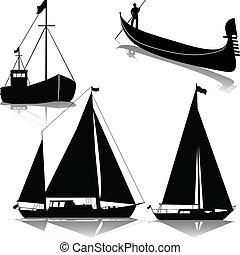 segeln, und, godot