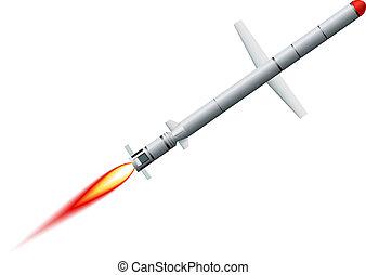 segeltörn, weißes, fliegendes, hintergrund, rakete