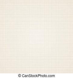 segeltuch, texture., beige, stoff