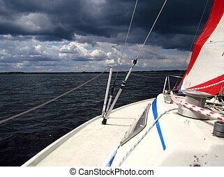 Segelyacht 1