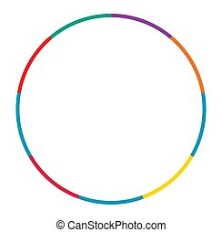 segmenté, infographics, segmentation, concepts, gabarit, ...