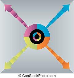 Segment Growth Chart Icon