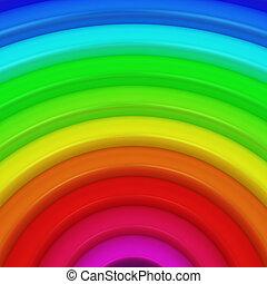Segment of rainbow