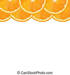 segment orange, frontière