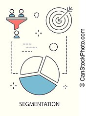 Segmentation concept illustration - Segmentation concept....