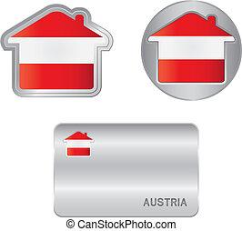 segnalatore austriaco, icona, casa