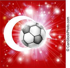 segnalatore tacchino, calcio
