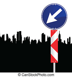 segnale direzione