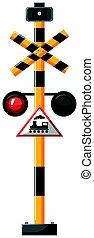 segnale, treno, traffico