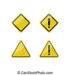 segni, avvertimento, azzardo