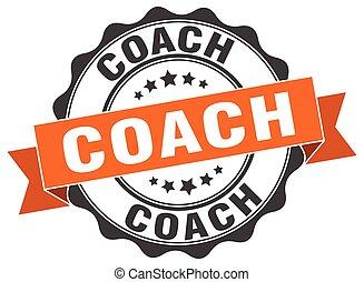segno., allenatore, stamp., sigillo