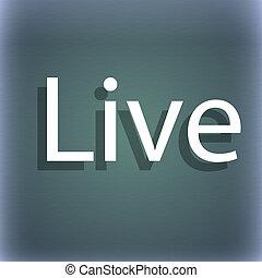 segno, astratto, spazio, tuo, icon., fondo, vivere, text., uggia, blu-verde