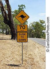 segno, australia, strada