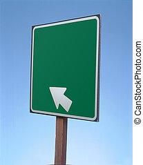 segno bianco
