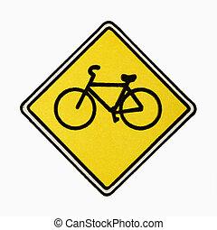 segno., bicicletta, strada