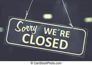 segno closed