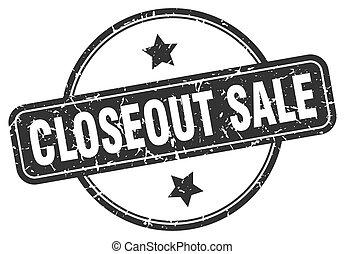 segno., closeout, rotondo, vendita, stamp., grunge,...