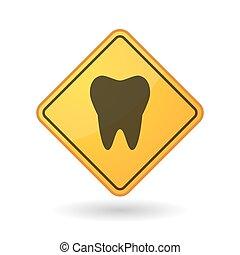 segno, consapevolezza, dente