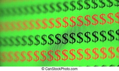 segno dollaro