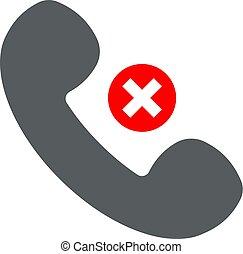 segno., icona, proibizione, microtelefono, appartamento