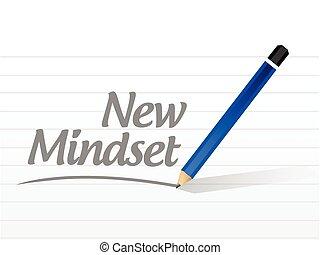 segno, mindset, nuovo, messaggio