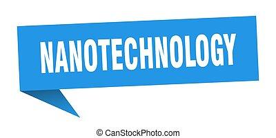 segno., nastro, bubble., bandiera, discorso, nanotechnology
