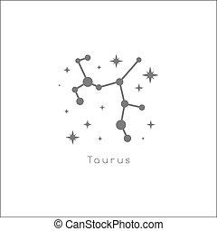 segno., ragazza, zodiaco
