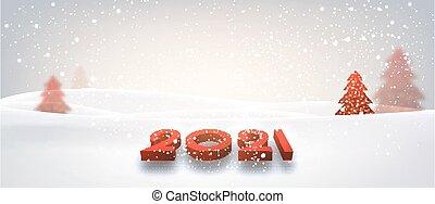 segno, rosso, dire bugie, snowdrift., 2021