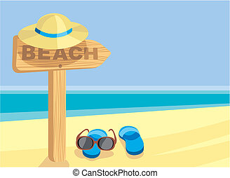 segno spiaggia