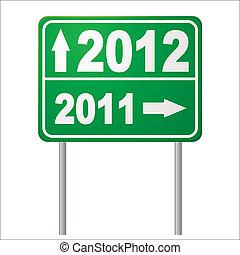 segno strada, 2012