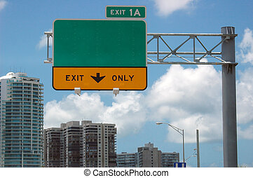 segno strada principale