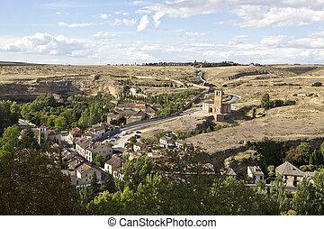 Segovia Church of Vera Cruz - View of the Templar Church of...