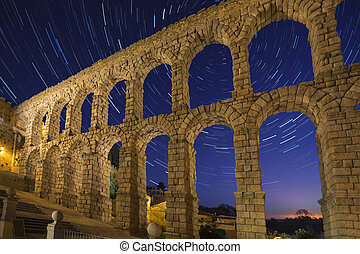 Segovia - Spain - Star Trails - Astronomy