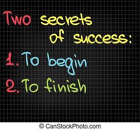 segreti, 2, successo