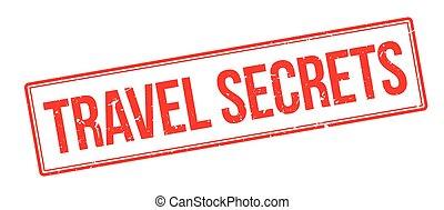 segreti, gomma, viaggiare, francobollo