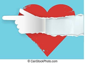 seguire, tuo, cuore