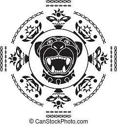 segundo, variante, panther.