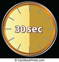 segundos, 30