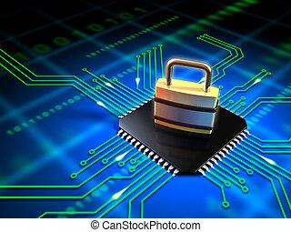 segurado, microchip