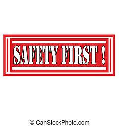 segurança, first-label