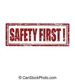 segurança, first-stamp