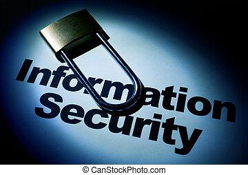 segurança, informação