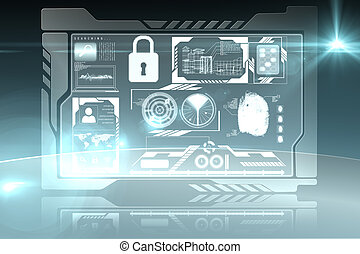 segurança, interface