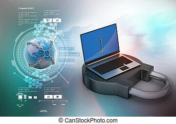 segurança internet, conceito